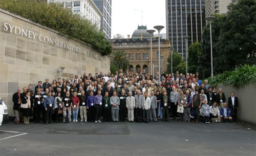 Participants & teachers at WSF08 in Sydney/WSF08 シドニーでの参加者